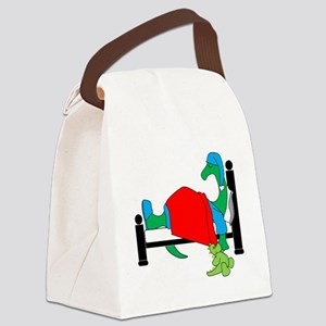 dinosnore dk Canvas Lunch Bag
